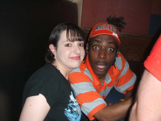 Angie Anglin & Coolio (Rapper)