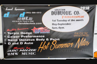 Hot Summer Nights Classic Car Show