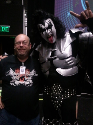 Paul Meyer - Gene Simmons Impersonator
