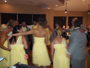 Wedding at the Meadows Golf Club