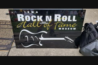 RALPH KLUSEMAN- IOWA ROCK N ROLL HALL OF FAME